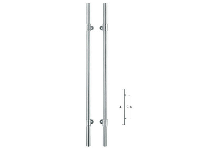 CE Certificate Brushed Nickel Door Handles Innovative Design Automatic Painted