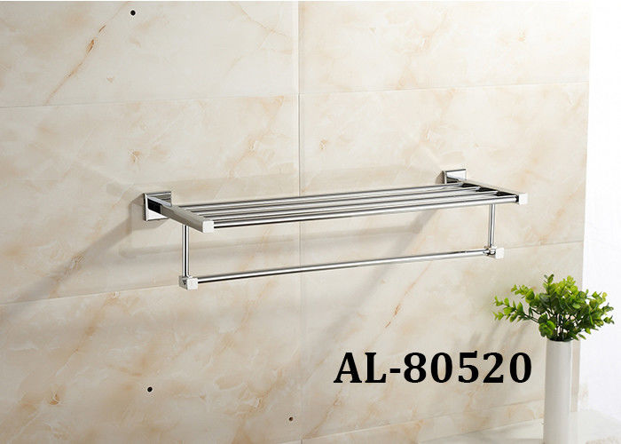 Stainless Steel Pretty Bathroom Accessories , Modern Bath Accessories Carefully Assembling