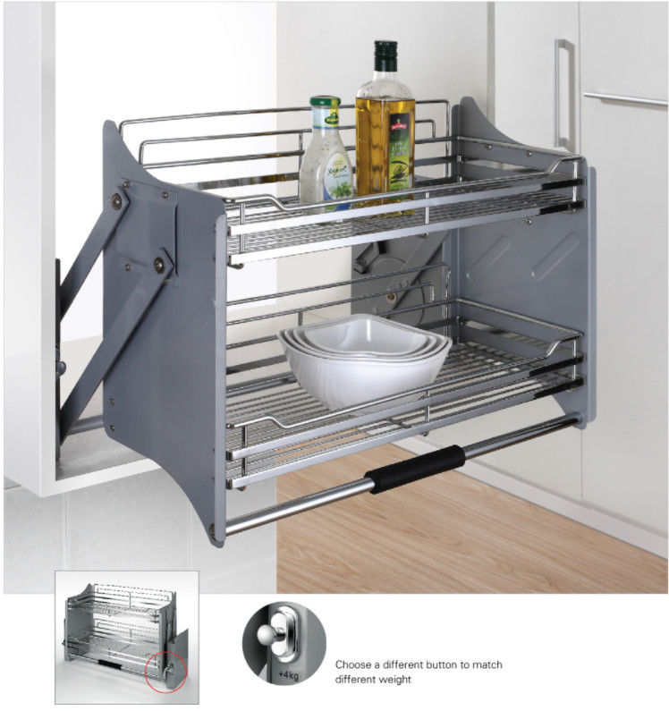 Elevator Pull Down Basket Modern Kitchen Accessories With Soft - Stop
